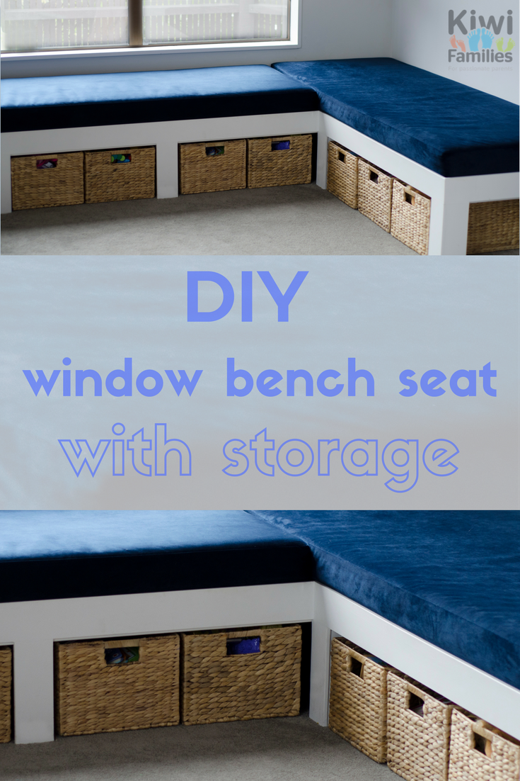 DIY window bench seat with storage | DIY | Pinterest | Window ...