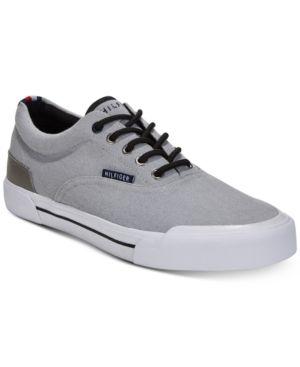 512e29e2d Tommy Hilfiger Men s Pallet Sneakers - Gray 10.5