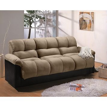 Ara Upholstery Futon Sofa Bed With Storage Value City Furniture 499 99