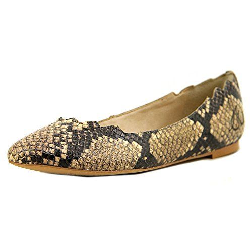4d98d992d Sam Edelman Womens Augusta Natural Shiny Python Print Flat 85 M -- Visit  the image link more details. Note:It is Affiliate Link to Amazon.