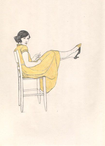 yellow...............  Lauren Nassef's Illustrations