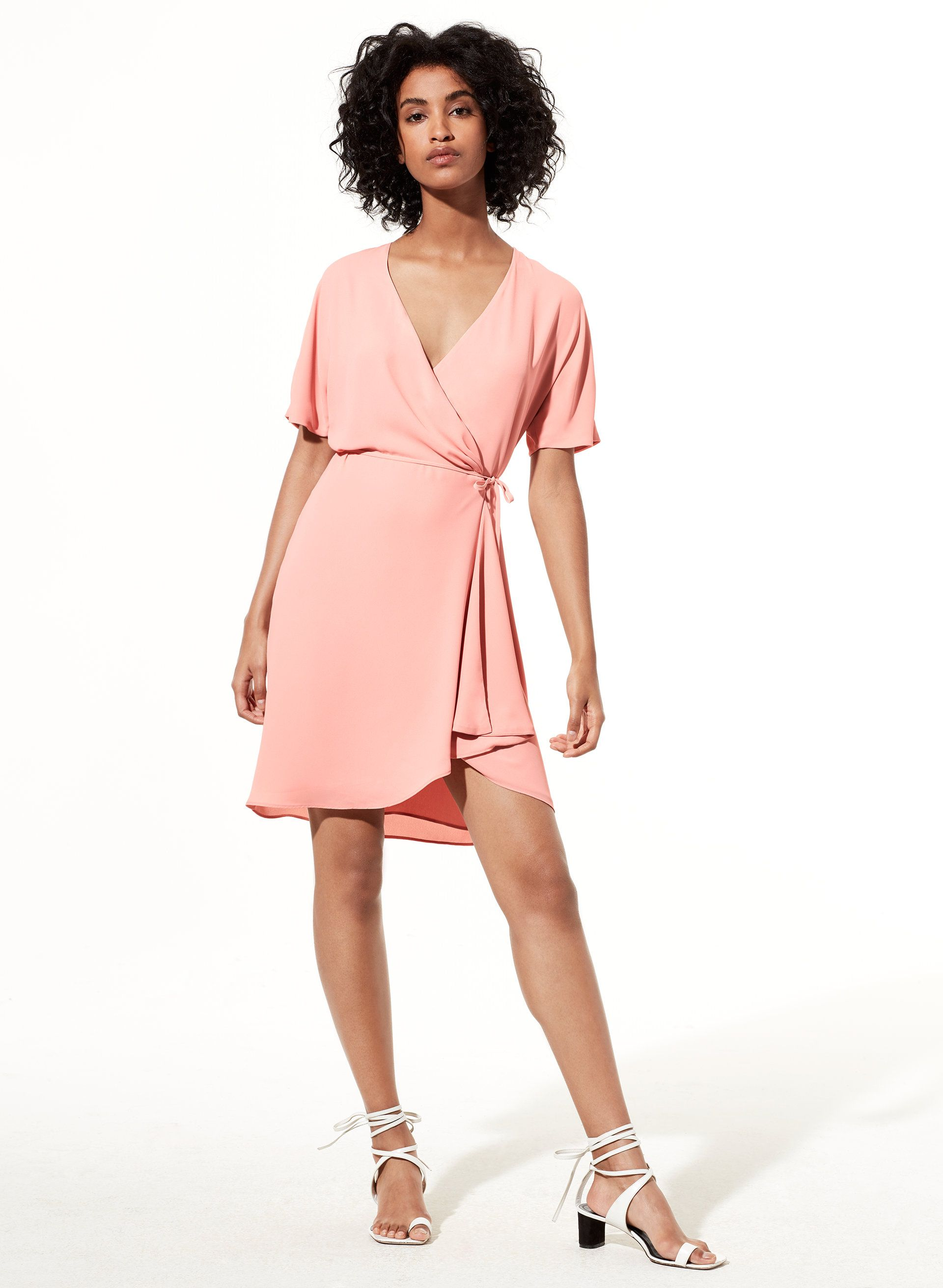 6ce91d761bc57 Wallace dress | young professional | Dresses, Draped fabric, Wrap Dress