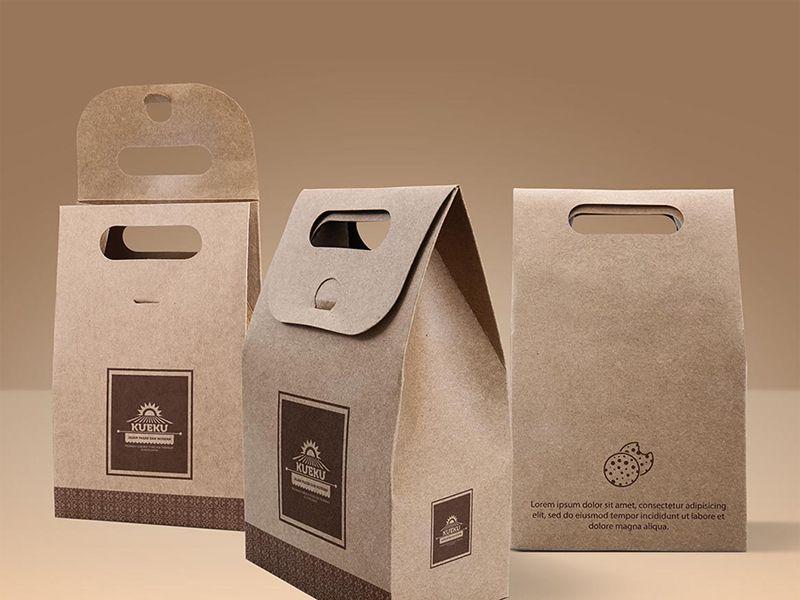 Download Kraft Paper Bag Free Mockup Script Freemium Download Bag Mockup Free Packaging Mockup Packaging Mockup