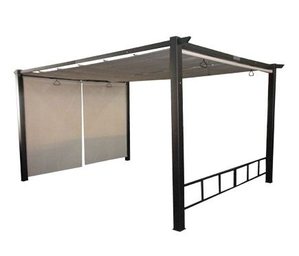 p rgola de acero premium 4x3 leroy merlin gazebo pinterest pergolas. Black Bedroom Furniture Sets. Home Design Ideas
