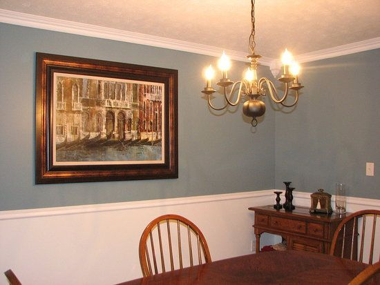 dining rooms with chair rails large dining room paint ideas with