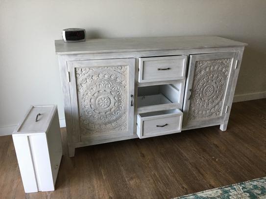 Home Decorators Collection Chennai 3 Drawer White Wash
