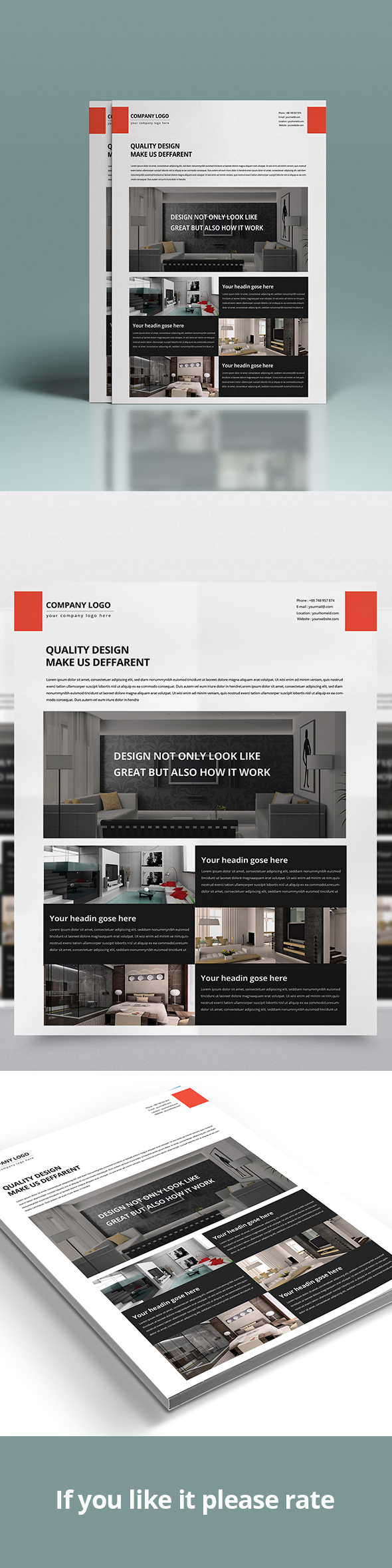 corporate business flyer template house interiors architecture advertisement agent architecture black brown building business elegant