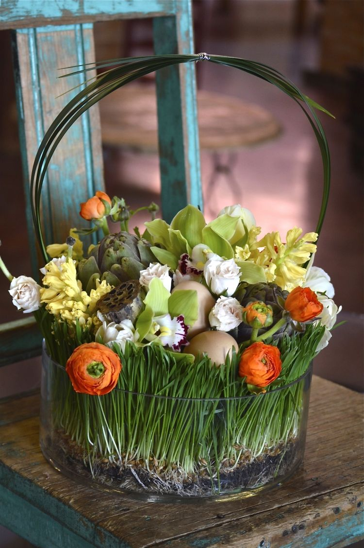 Schone Und Einfache Fruhling Tischdeko Ideen Mit Blumen Und