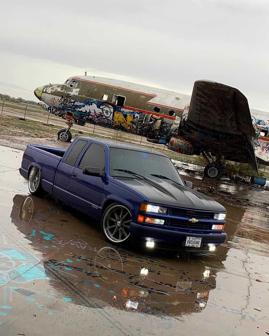 Last Pic Of The Year Let The New Year Begin Usmagswheels Sittingpretty Suelomob Custom Chevy Trucks Chevy Trucks Chevy