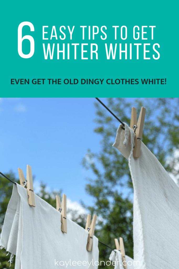 Washing Whites How To Wash White Clothes Washing White Clothes Cleaning White Clothes White Wash