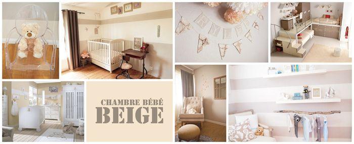 chambre bébé beige   Deco   Pinterest   Chambres bébé, Deco chambre ...