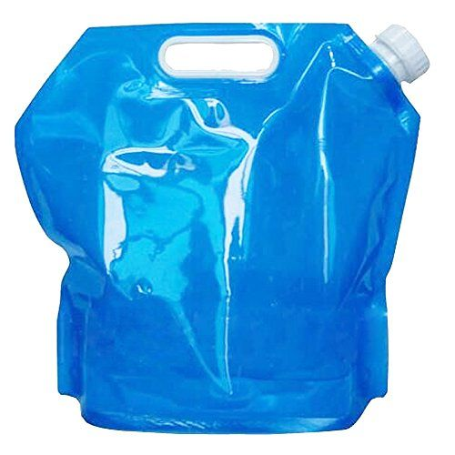 Cirkleoutdoor 10 Litres Collapsible Water Container Bpa Free Plastic Water Carrier Folding Water Bag Outdoor Gadgets Water Carrier Water Containers