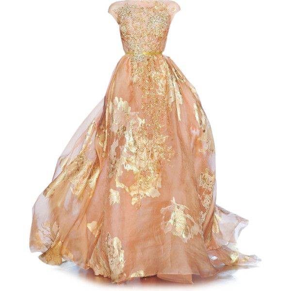 Satinee's collection - Elie Saab ❤ liked on Polyvore.. Something about this is soooo beautiful!