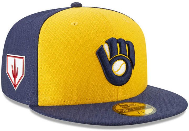 super cheap promo code new high quality New Era Milwaukee Brewers Spring Training 59FIFTY-fitted Cap in ...