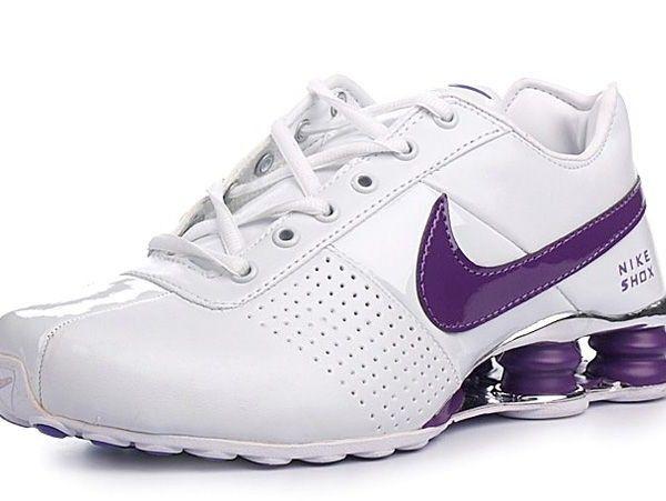 Womens Nike Shox Deliver Chrome Purple