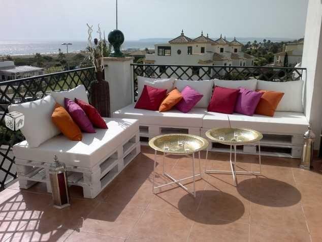 foto de asientos palets chill outterrazassofs - Asientos Con Palets