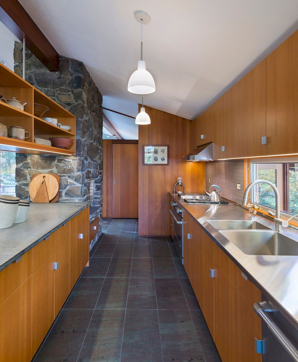 Awesome charming mid century kitchen design ideas