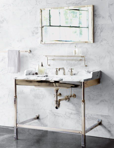Roman And Williams S New Collections For Waterworks White Bathroom Designs Roman And Williams Waterworks