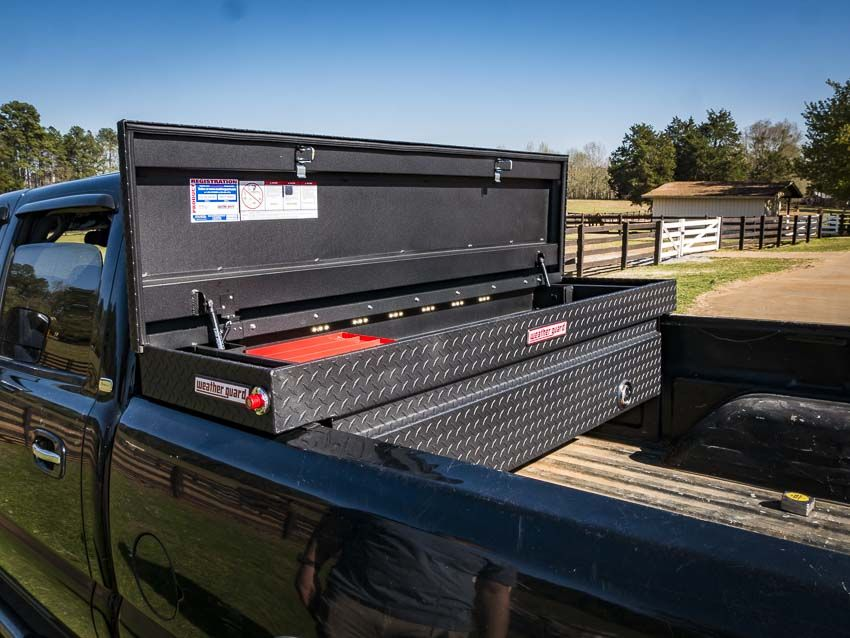 Weather Guard Lighted Truck Box With Powersync Pro Tool Reviews Weatherguard Truck Tool Boxes Truck Boxes Truck Lights