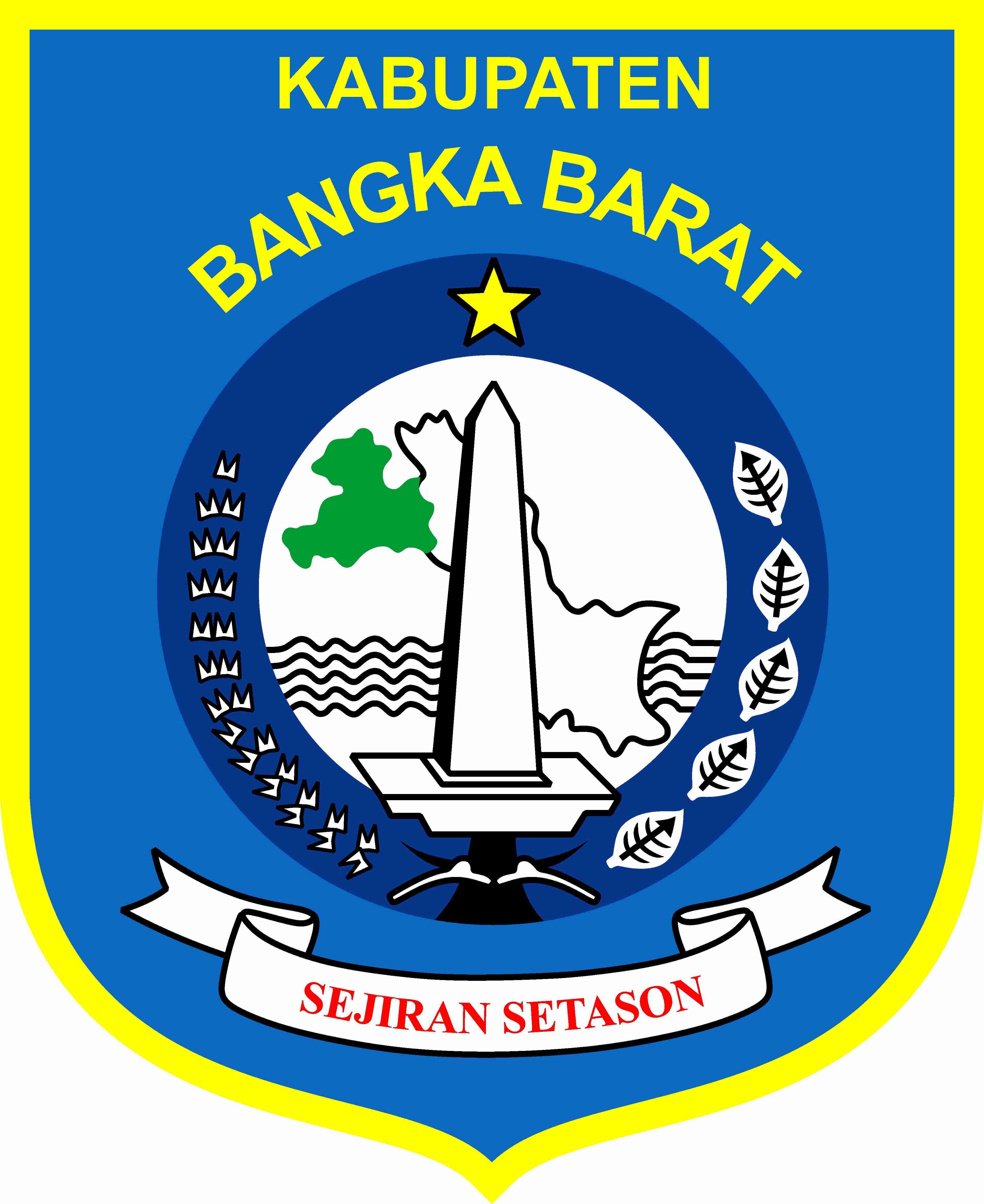 Kabupaten Bangka Barat Bendera Flag Bangkabarat Kabupatenbangkabarat Logokabupetan Kabupatenbelitung Kabupatenbelitungtimur Kabupatenbangk Bendera Seni