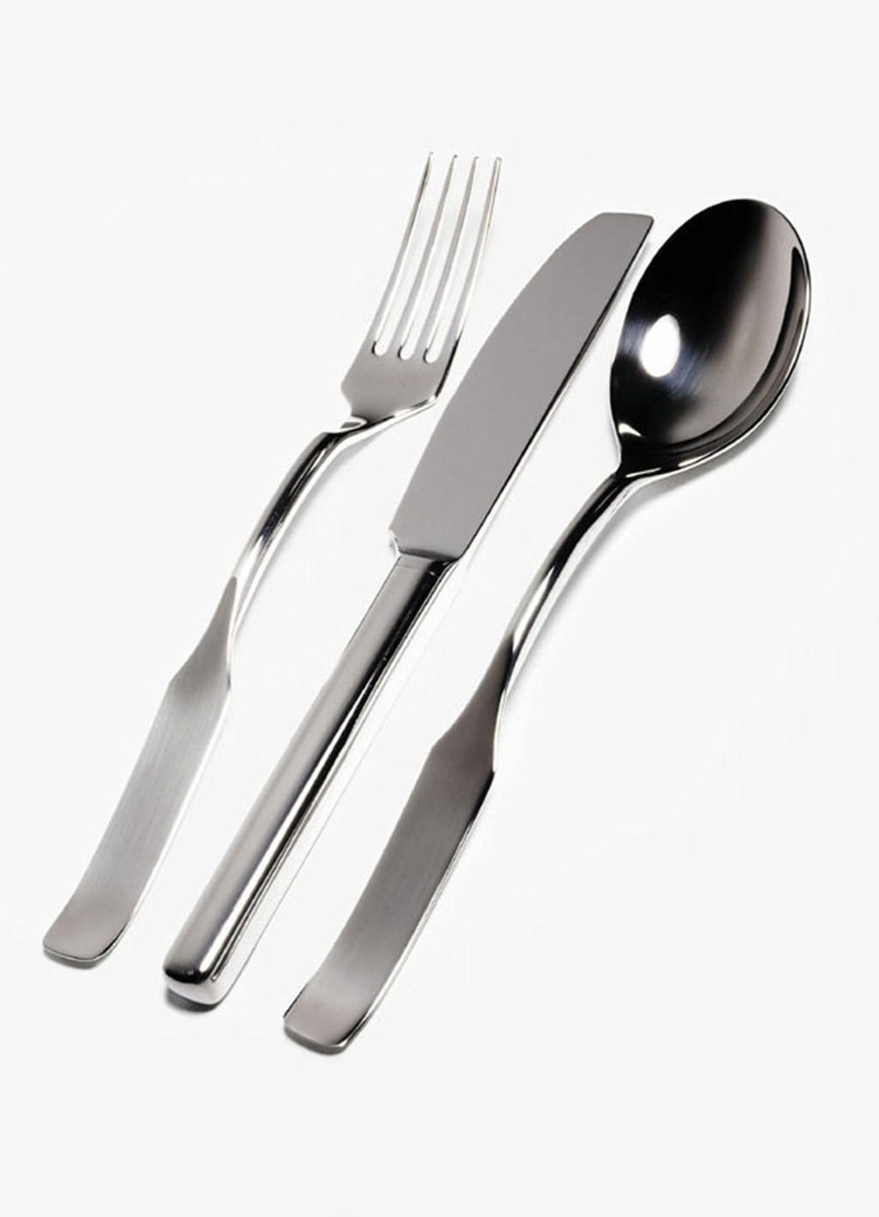 Alessi Silverware Richard Sapper Rs01 1995 Product Cutlery Cutlery
