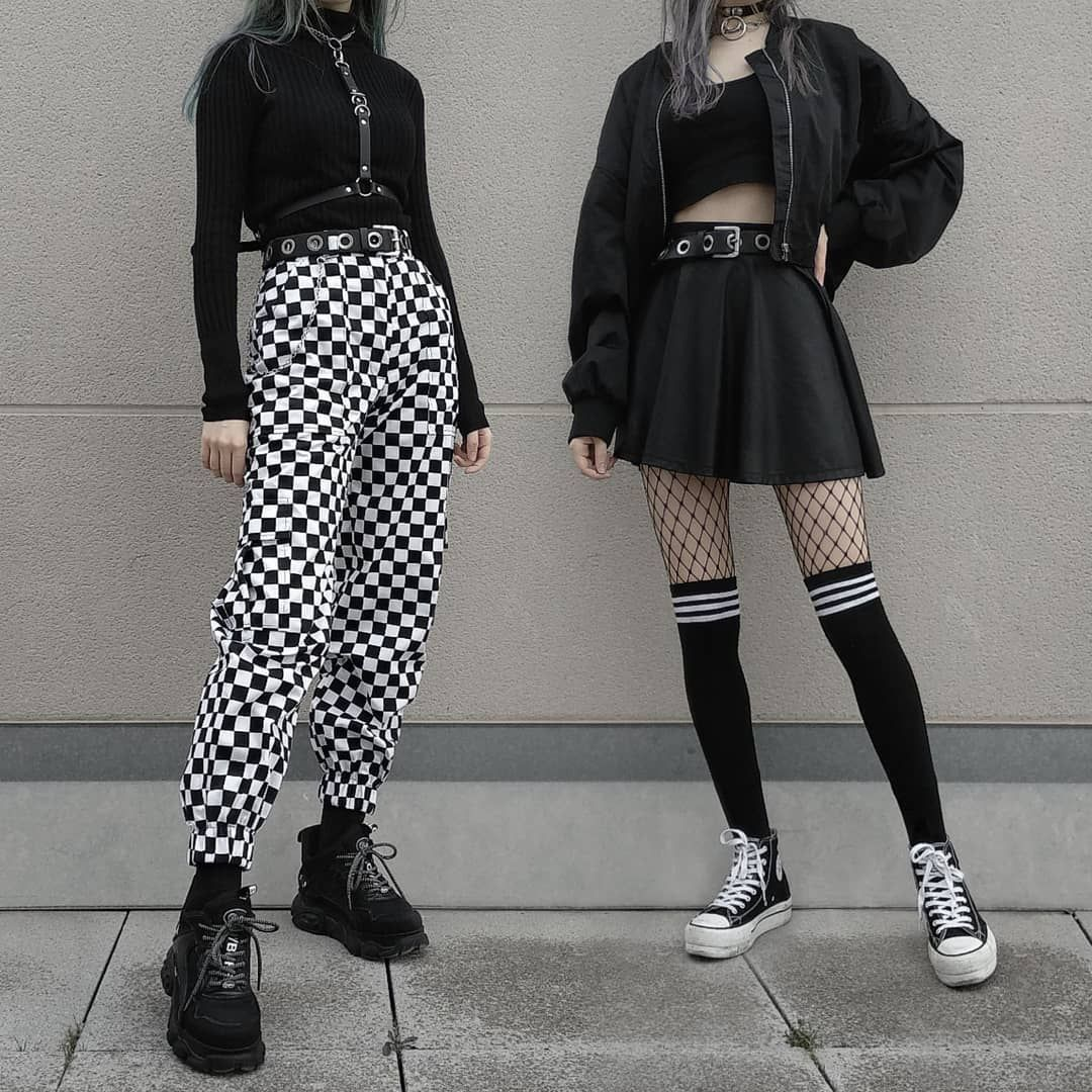 E Girl On Instagram Would You Wear It Follow Me For More Credits Steeltoothstore Grunge In 2020 Egirl Fashion Edgy Outfits Aesthetic Grunge Outfit