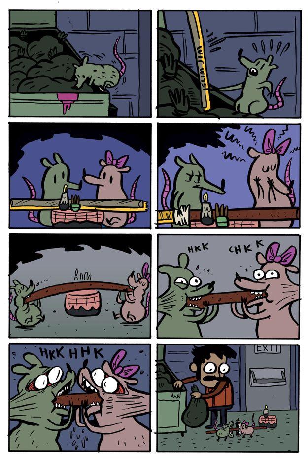These Slim Jim Smitten Rats Comics Funny Humor Funny Comics