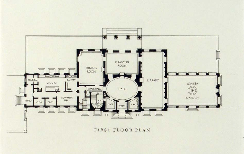Georgian House Plans Georgian House Plan Detail House Ideas In