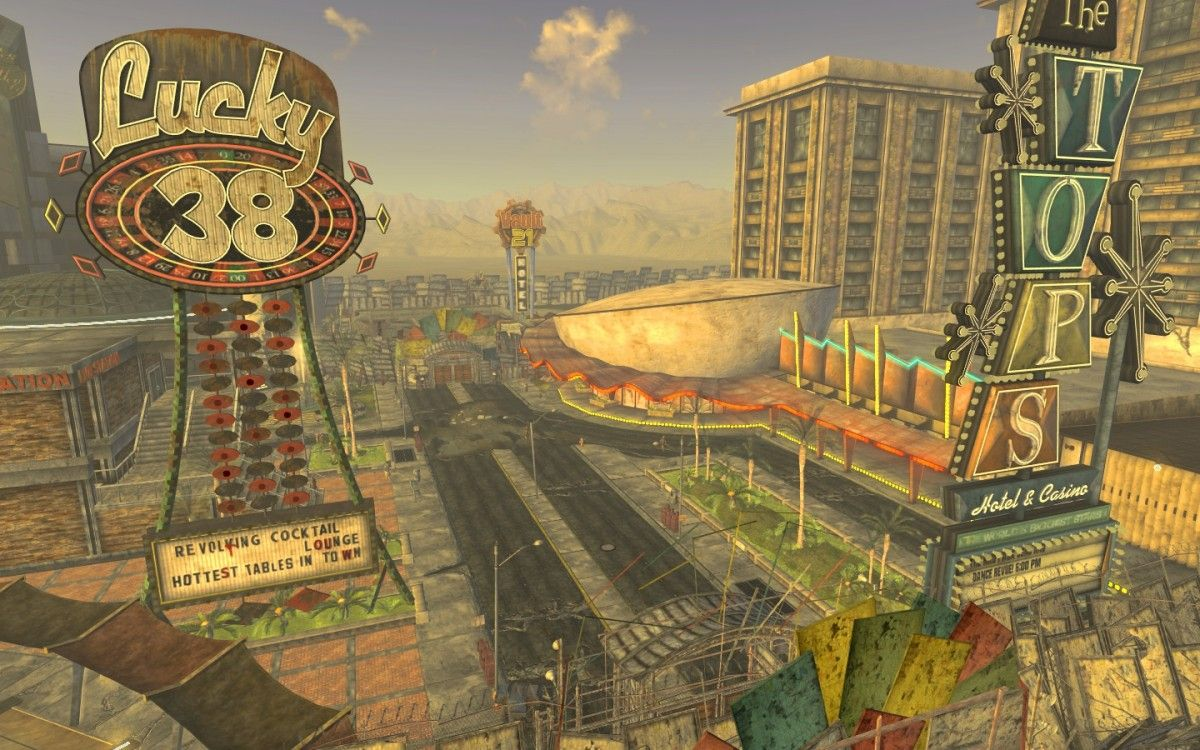 Fallout: New Vegas was seemingly compromised by console