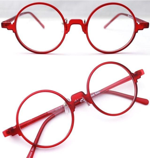 Harry Potter Vintage Retro Flexible Round Red Eyeglass Frame Spectacles  Eyewear… 1a2e33d9dee1