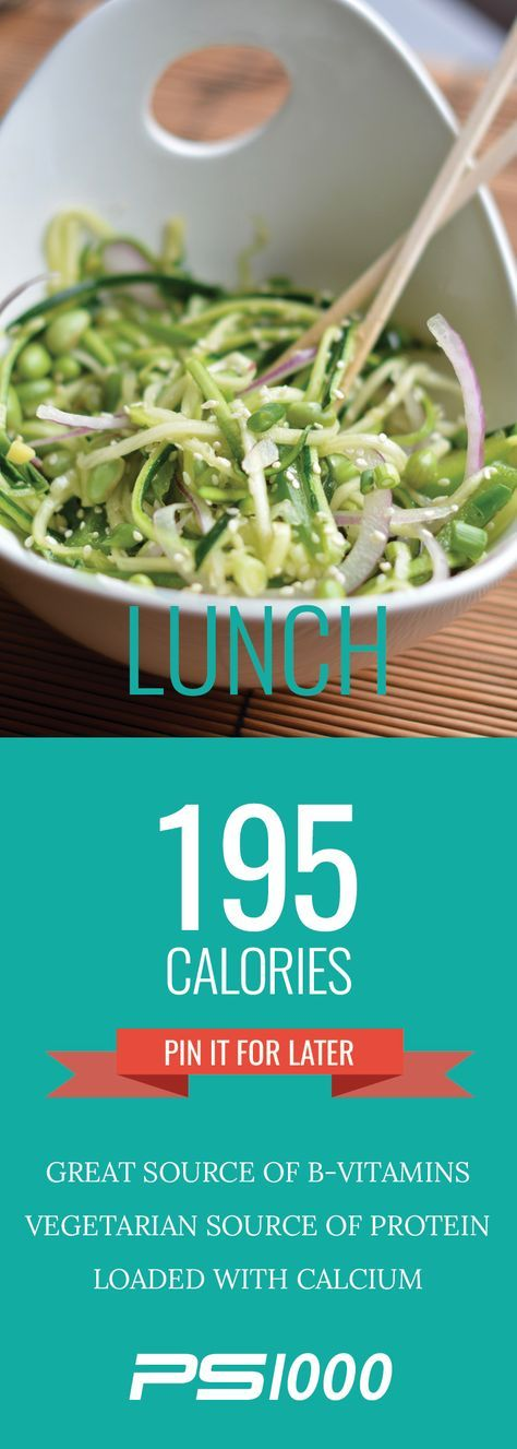 Protein Packed Edamame Raw Salad