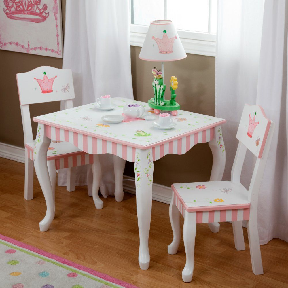 Fantasy Fields Princess & Frog Table and Chair Set - Activity Tables ...