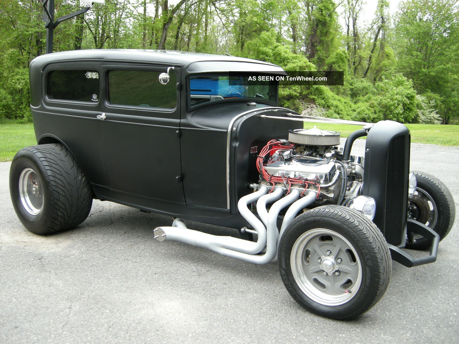 1955 chevrolet hot rod truck pictures to pin on pinterest - Images Of Ford Hot Rod Trucks 1930 Ford Model A Hot Rod