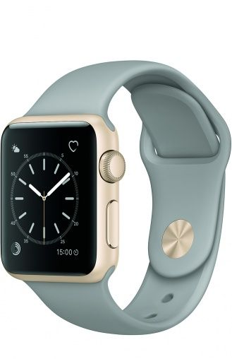 5ea22cdbdcd Apple Watch Series 1 38mm Gold Aluminium Case Apple