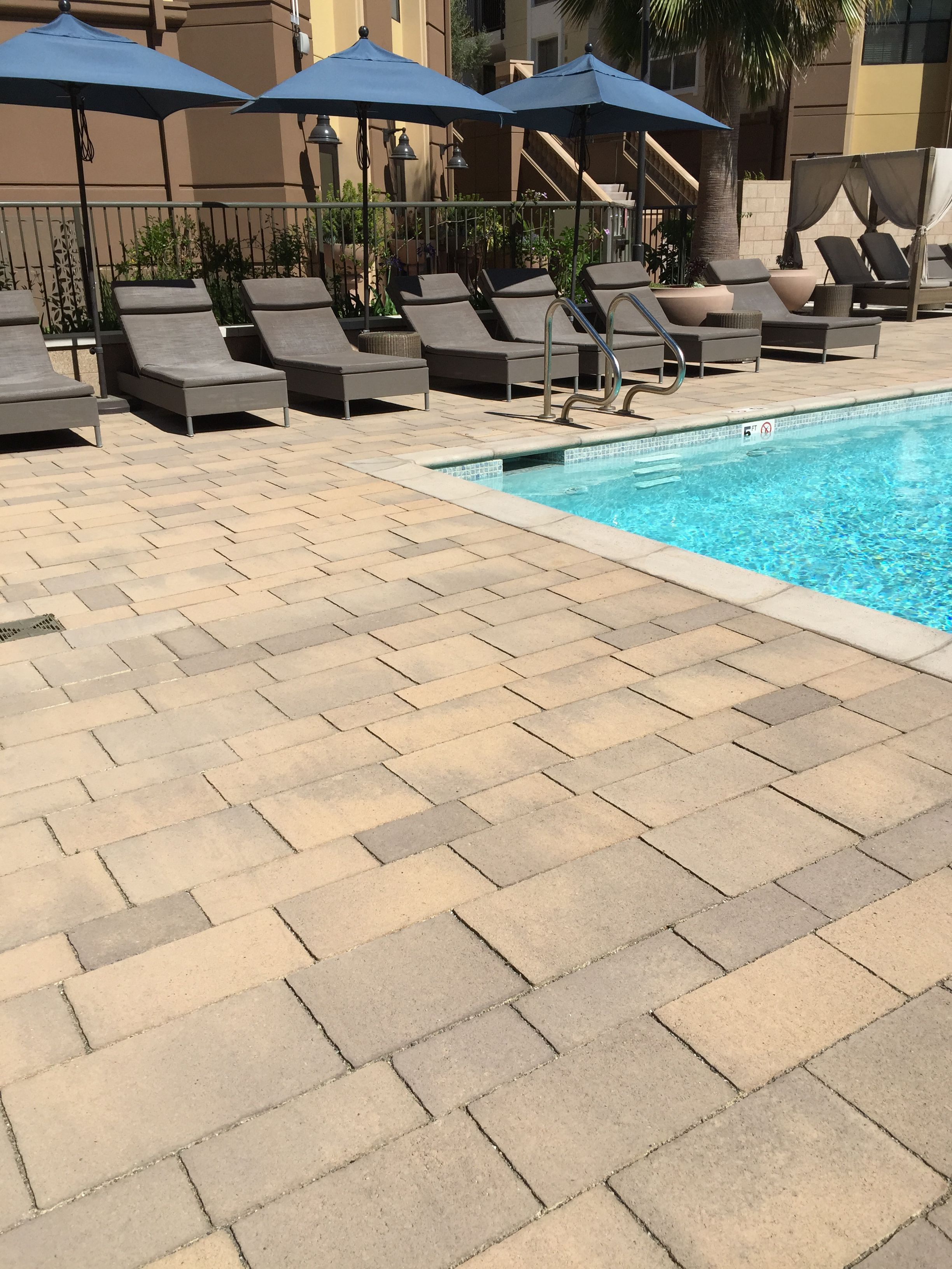 Loving Our Lido Stone By The Pool Just Beautiful Pavers