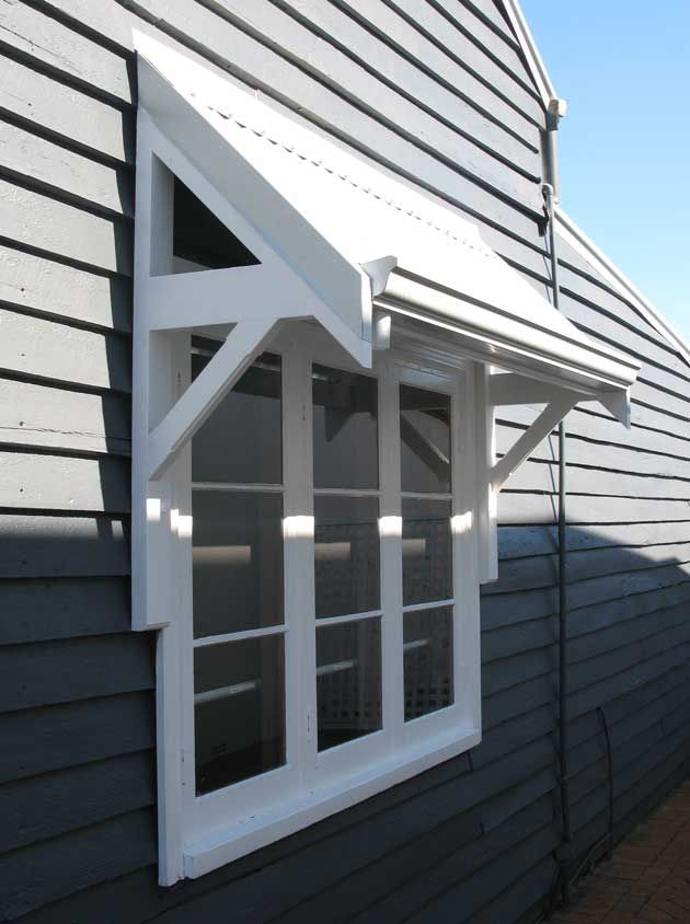 Federation window awning google search renos for Exterior door awnings