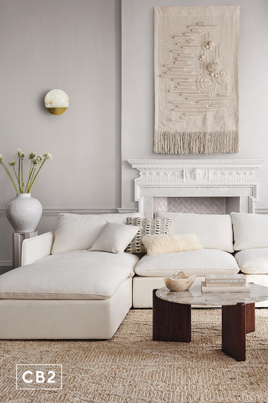 Virtual Design Living Room: Virtual Room Designer: CB2 Interiors