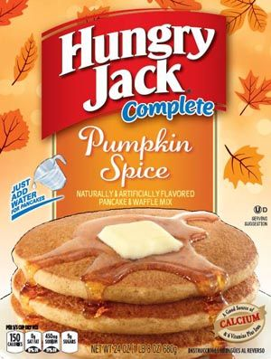 Hungry jack products complete pancake mixes complete pumpkin easy meals hungry jack products complete pancake mixes complete pumpkin spice pancake waffle ccuart Gallery