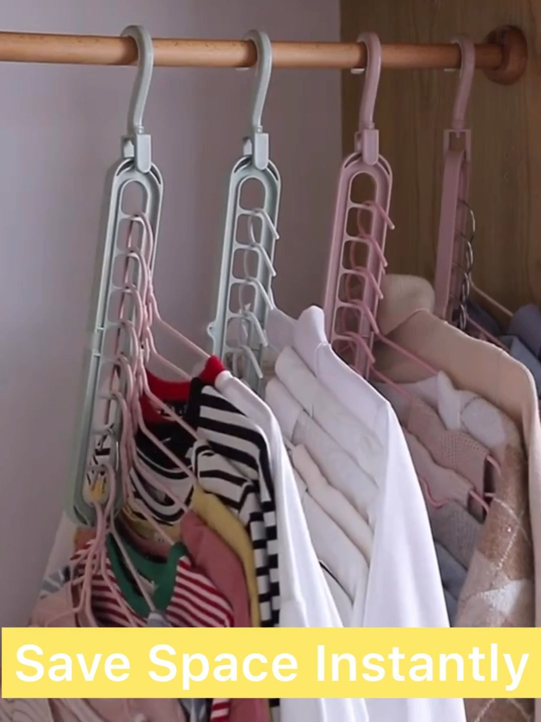 How To Organize Your Closet Space Saving Tips In 2020 How To
