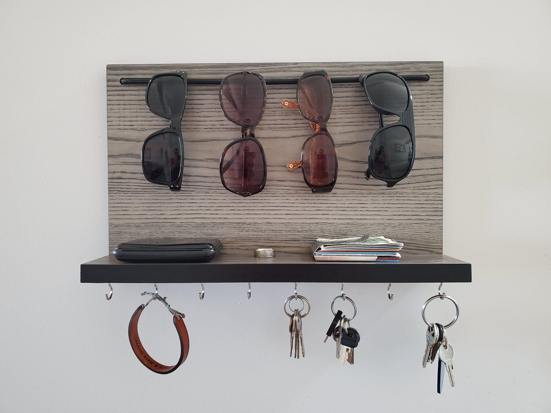 best gift ever  key holder diy sunglass holder wall