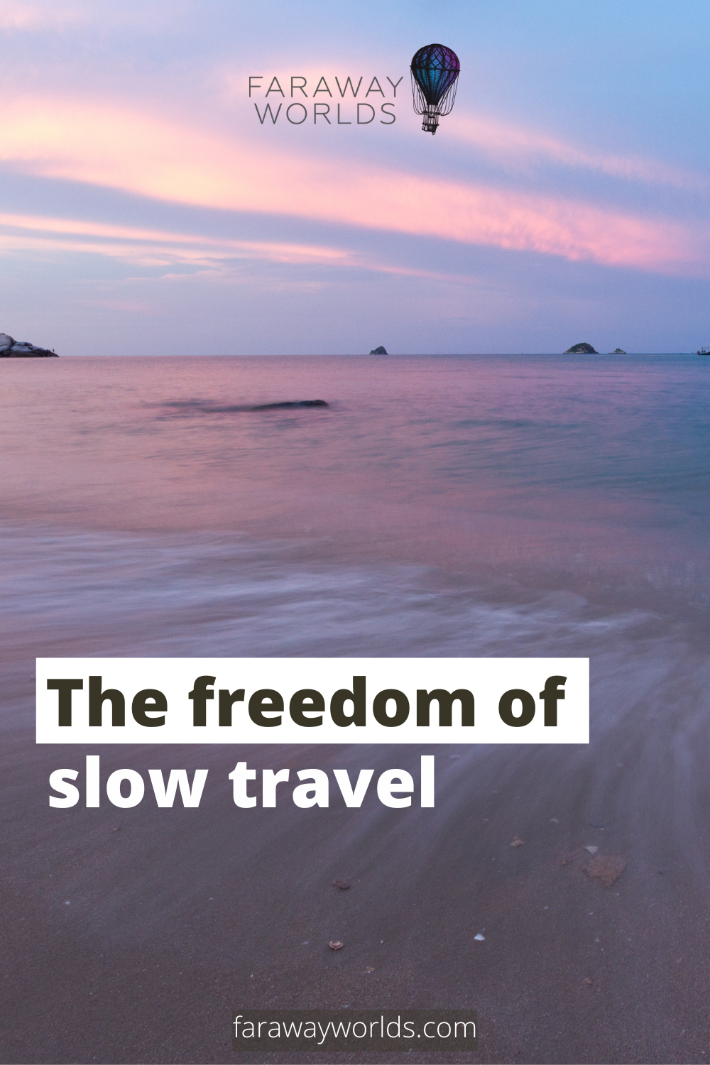 The freedom of slow travel
