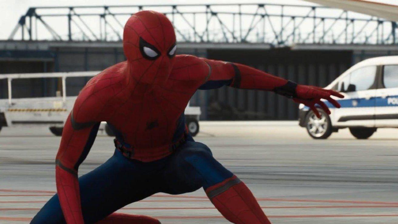 картинка человека паука из первый мститель нужна для