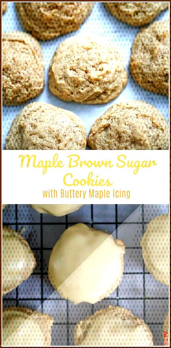 Soft Maple Brown Sugar Drop Cookies Soft Maple Brown Sugar Drop Cookies The Baking ChocolaTess Bakn