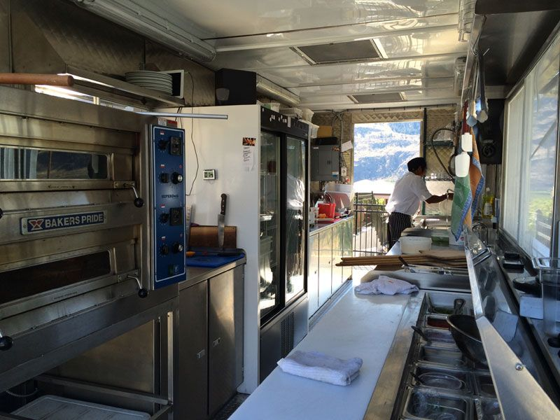 Shipping Container Kitchen at Black Hills Estate Winery