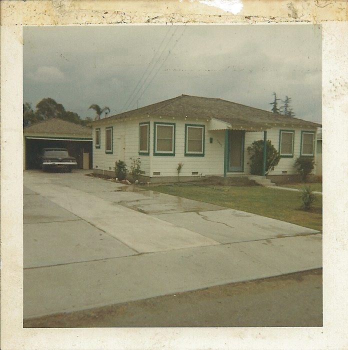 The First Place I Ever Lived 1966 12921 7th Street Garden