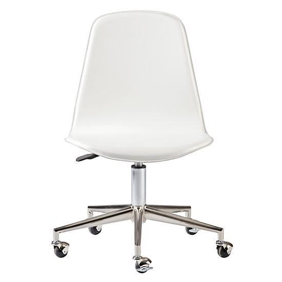 Kids Class Act White And Silver Desk Chair Silver Desk Desk