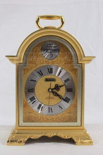 Shopgoodwill Com Bulova Tempus Fugit Shelf Clock