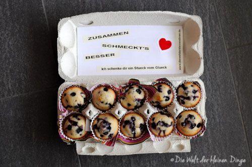 Die Welt der kleinen Dinge: Der letzte Beitrag zu meinem Paket: Blueberry Mu …   – Geschenke verpacken