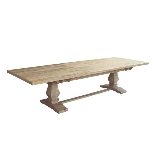 Oatley Mango Wood Extension Dining Table in Honey Wash - Dining Tables -  Dining