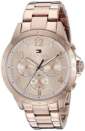 1bb9f76eb76 Tommy Hilfiger Women s 1781642 Dani Analog Display Japanese Quartz Rose  Gold Watch